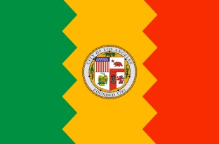 los angeles flag