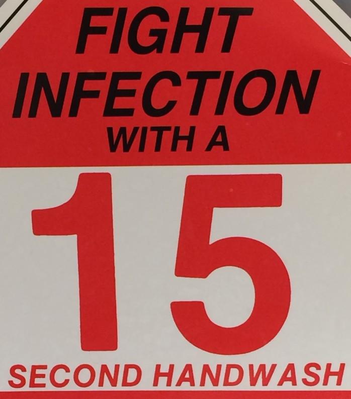 15 second handwash