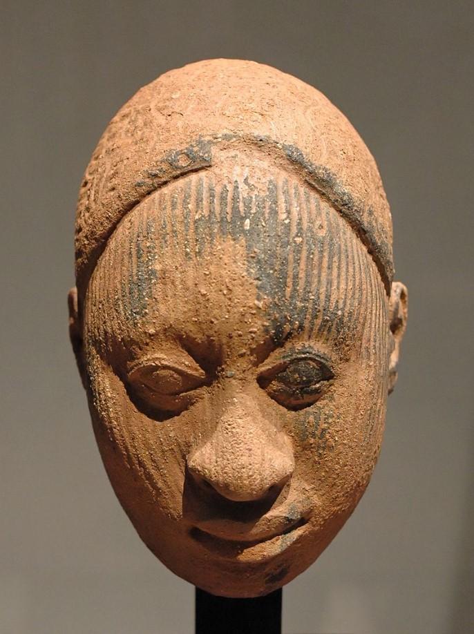head terracotta