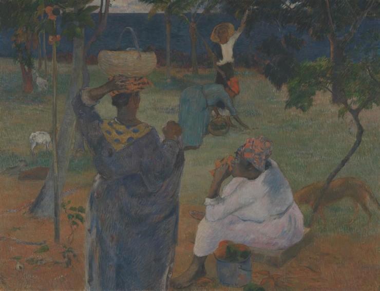 Among the Mangoes (La Cueillette des Fruits), 1887,