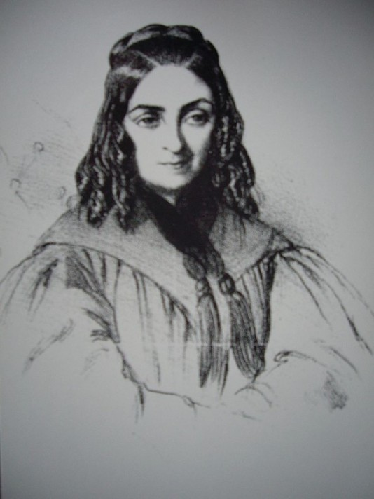 Gauguin's maternal grandmother, Flora Tristan (1803–1844) in 1838