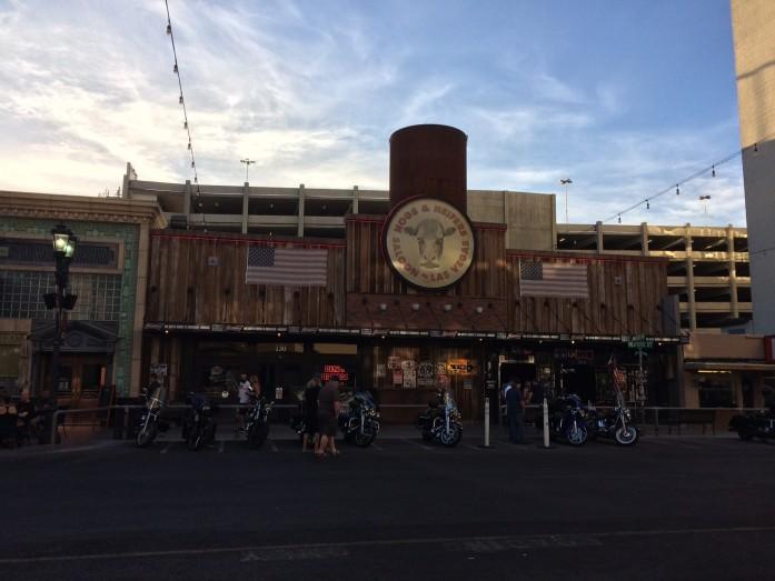 hogs biker bar