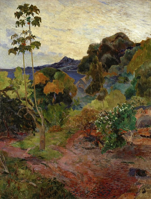 Martinique Landscape 1887