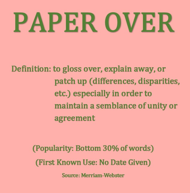 paperover