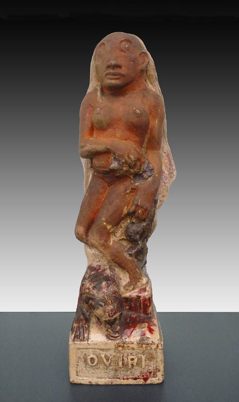 Paul Gauguin, 1894, Oviri (Sauvage), partially glazed stoneware