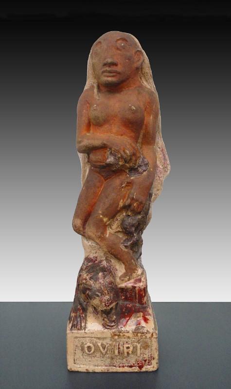 Paul Gauguin, 1894, Oviri (Sauvage), partially glazed stoneware