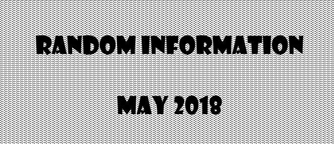 random may info