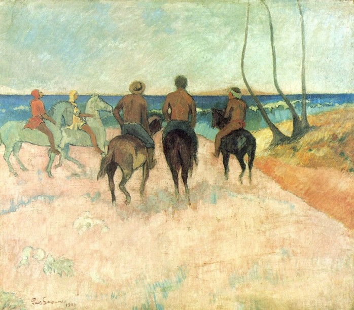 Riders on the Beach, 1902