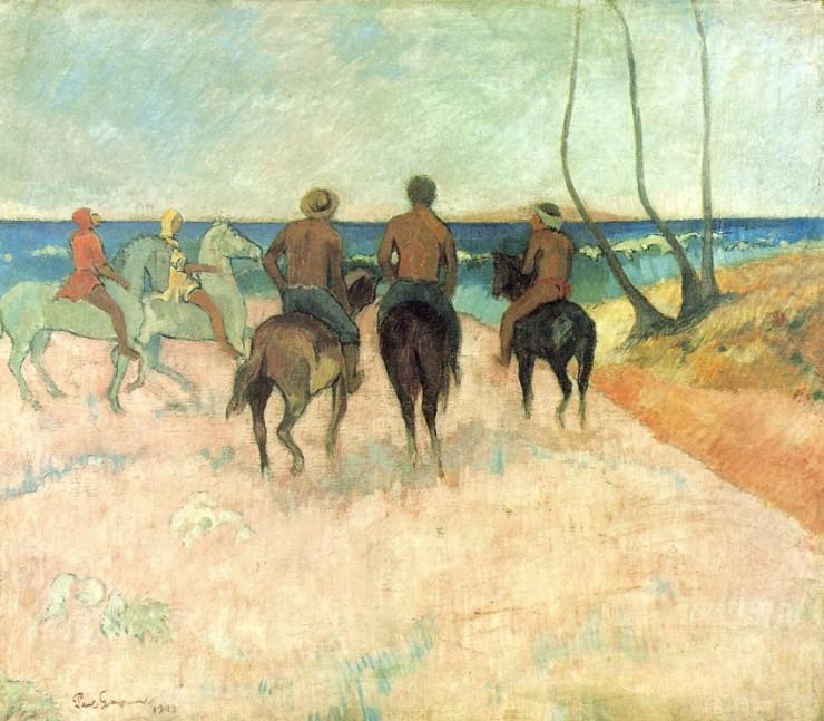Riders on the Beach, 1902