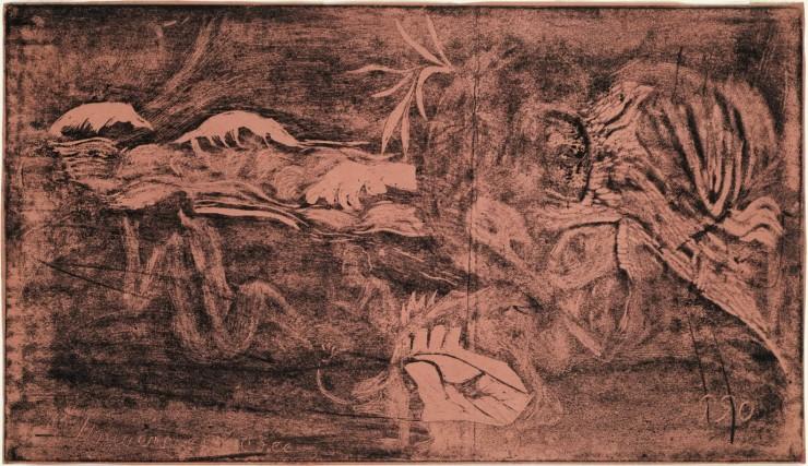 The Universe is Created (L'Univers est créé), from the Noa Noa suite, 1893–94