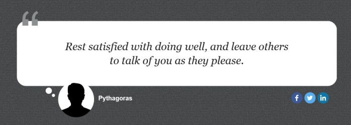 pythagoras quote